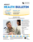 January 2018 Adult Health Bulletin