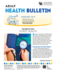 February 2019 Adult Heath Bulletin
