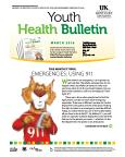 March 2016 Youth Health Bulletin