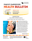 March 2018 Family Caregiver Health Bulletin