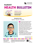 March 2018 Parent Health Bulletin
