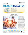 March 2019 Adult Health Bulletin