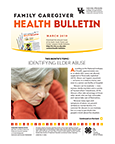 March 2019 Family Caregiver Health Bulletin