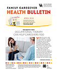 April 2018 Family Caregiver Health Bulletin