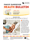 April 2019 Family Caregiver Health Bulletin