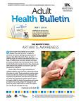 May 2016 Adult Health Bulletin