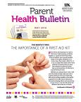 May 2016 Parent Health Bulletin