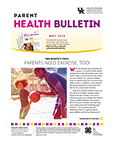 May 2018 Parent Health Bulletin