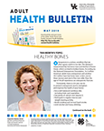 May 2019 Adult Health Bulletin