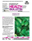 June 2012 Parent Health Bulletin