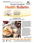 June 2016 Family Caregiver Health Bulletin