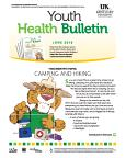 June 2016 Youth Health Bulletin