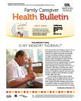 July 2015 Health Bulletin Family Caregiver
