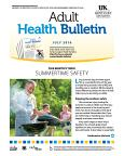 July 2016 Health Bulletin Adult