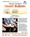 July 2016 Health Bulletin Care Giver