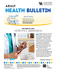 July 2018 Adult Health Bulletin