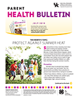 July 2019 Parent Health Bulletin