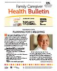 August 2012 Caregiver Health Bulletin