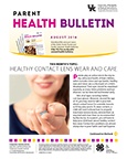 August 2018 Parent Health Bulletin