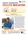 August 2019 Family Caregiver Health Bulletin