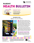 August 2019 Parent Health Bulletin
