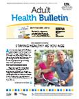 September 2012 Adult Health Bulletin