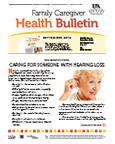 September 2012 Caregiver Health Bulletin