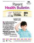 September 2012 Parent Health Bulletin