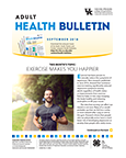 September 2018 Adult Health Bulletin