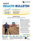 September 2019 Adult Health Bulletin