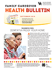 September 2019 Family Caregiver Health Bulletin