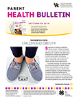 September 2019 Parent Health Bulletin