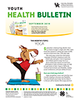 September 2019 Youth Health Bulletin