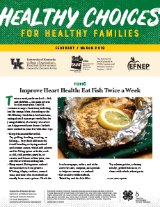 February / March 2019 Healthy Choices Newsletter English