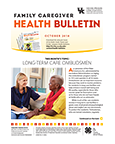 October 2018 Family Caregiver Health Bulletin