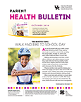 October 2018 Parent Health Bulletin