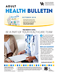 October 2019 Adult Health Bulletin