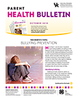 October 2019 Parent Health Bulletin