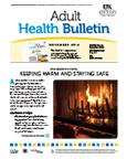 November 2012 Adult Health Bulletin