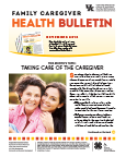 November 2016 Family Care Giver Health Bulletin