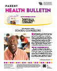 November 2016 Parent Health Bulletin