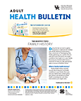 November 2018 Adult Health Bulletin