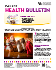 December 2016 Parent Health Bulletin