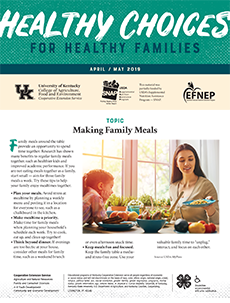April / May 2019 Healthy Choices Newsletter English