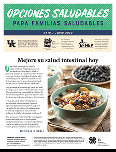 May / June 2020 Healthy Choices Newsletter Spanish