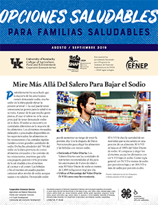 August / September 2019 Health Bulletin Spanish