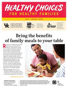 July / August 2020 Healthy Choices Newsletter English