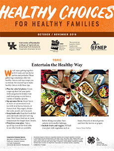 October / November 2018 Healthy Choices Newsletter English