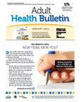 January 2014 Adult Health Bulletin