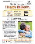 January 2015 Caregiver Health Bulletin